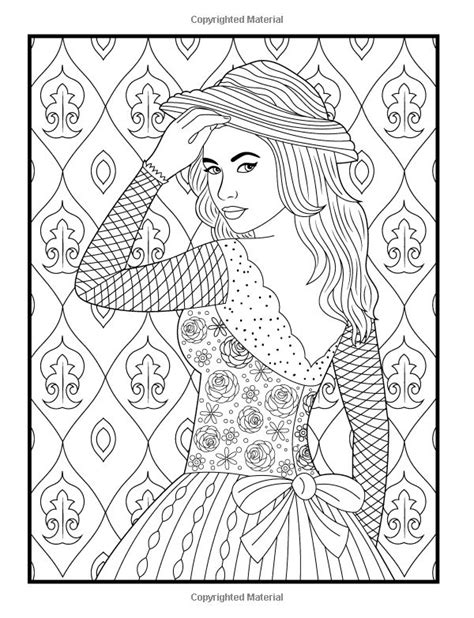 girly coloring pages for adults 642 best coloriages girly images on pinterest coloring