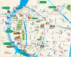 about bts bangkok thailand airport map detail bangkok