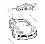 Colorear Autos Y Motos 50  Dibujo Para