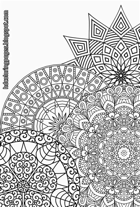 super detailed mandalas coloring pages  adult