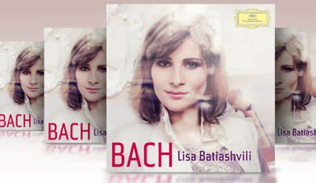 Violin Giveaway - vc lisa batiashvili autographed bach cd prize winners announced