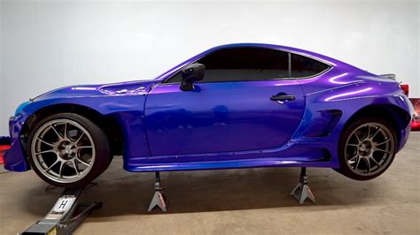 widebody brz widebody brz wrap finished