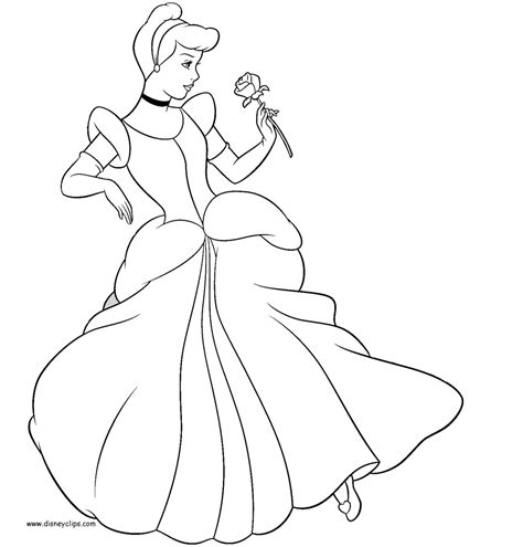 cinderella coloring pages free the cinderella coach coloring pages