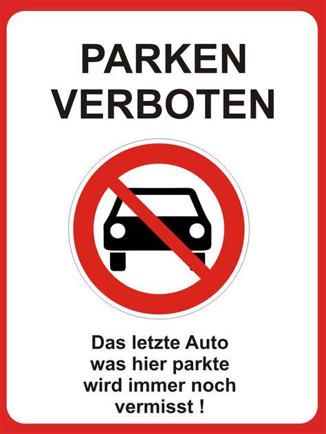 Aufkleber Frau Und Hund Vermisst by Hinweisschild Parken Verboten Auto Vermisst