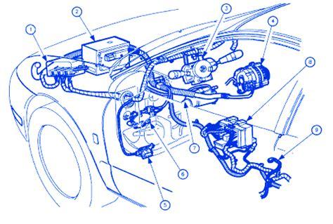 saturn aura  main electrical circuit wiring diagram carfusebox