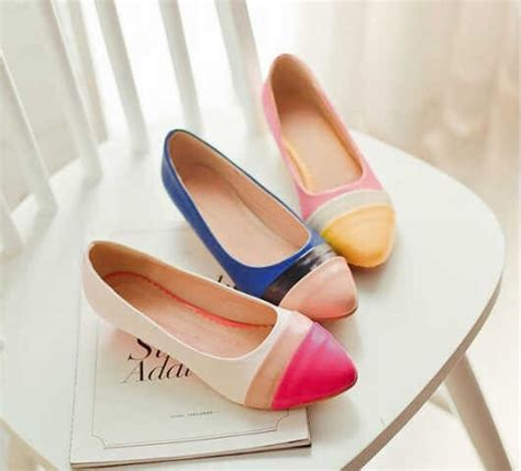 Flast Shoes Cantik model high heels wanita terbaru 2015