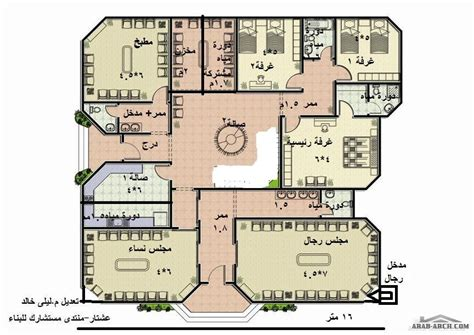 5 Bedroom Single Story House Plans 25 08 2014 187 arab arch