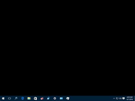 black desk fix desktop turns black in windows 10 winaero