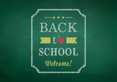 back to school poster template back to school poster vector graphic back to school