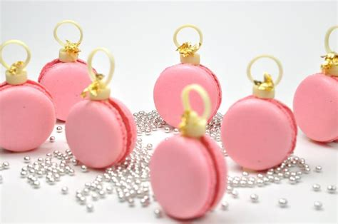 macaron ornaments tutorial recipes macarons pinterest