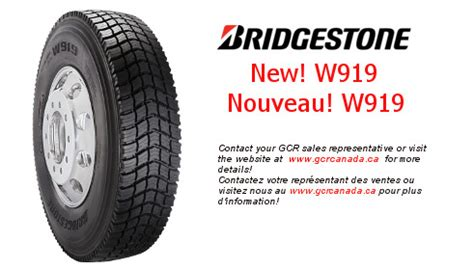 gcr canada | new w919 tires