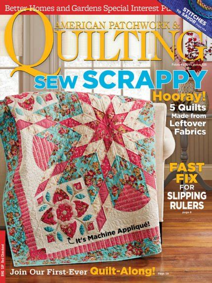 american patchwork quilting february 2014