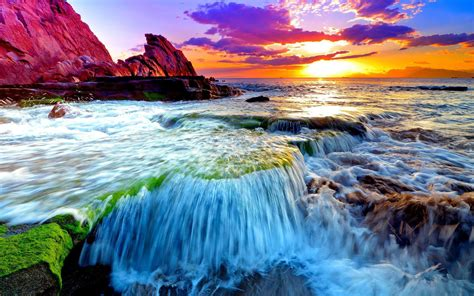 beatiful wallpaper beautiful ocean sunset wallpaper