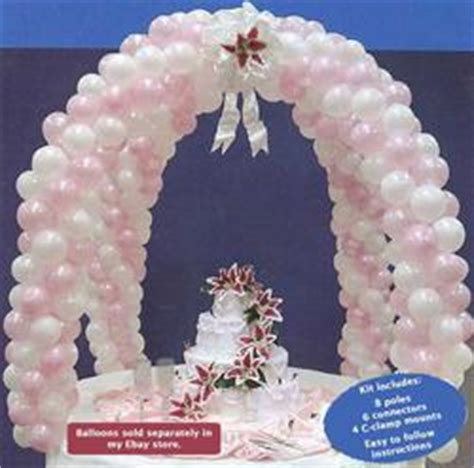 wedding arch decoration kit wedding cake table decoration ideas with balloons