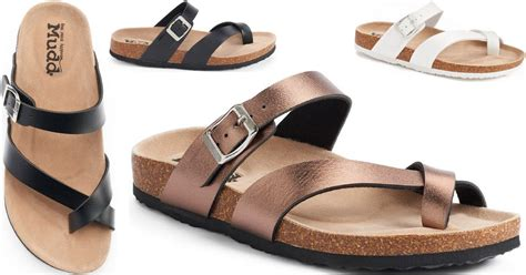 mudd sandals kohl s mudd women s sandals only 7 64 each when you
