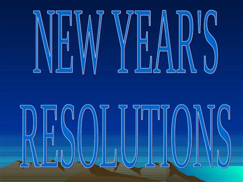 new year eyfs ppt ppt new year s resolutions alberto
