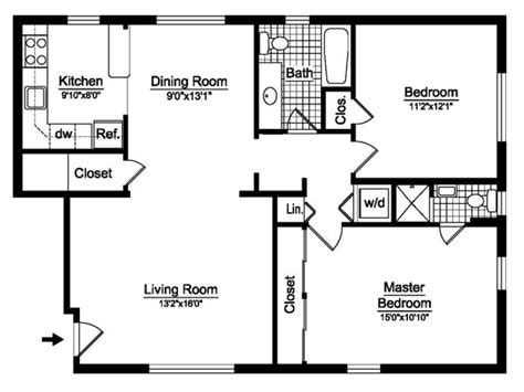 bedroom bathroom floor plans bedroom bath house plan plans floor bathroom with 2 open