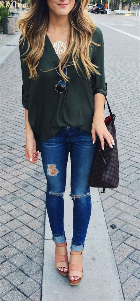 picture  ripped jeans