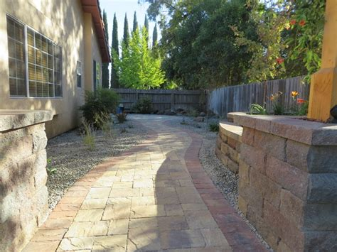 Landscape Rock Chico Ca Grass Out Hardscape In Chico Ca Contemporary