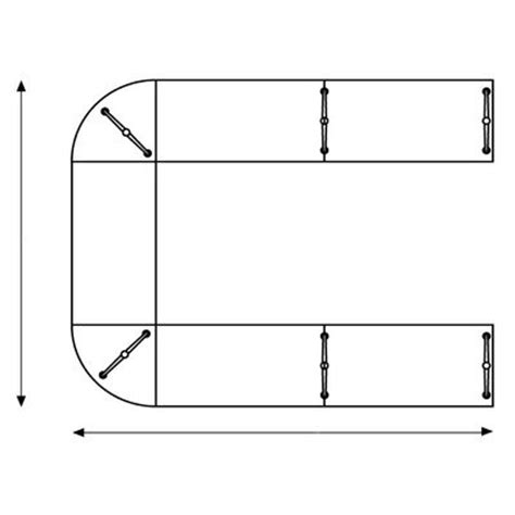 U Shaped Conference Table Dimensions Artifort Casuscol9 Casuscov9 Casus Composition Conference Table Quot U Quot Shaped By Toine
