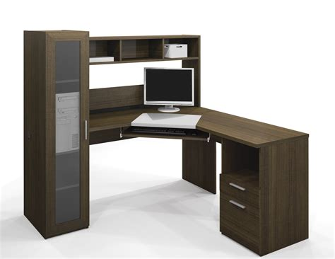 Corner Desk Workstation Bestar Jazz Corner Computer Desk 90432 78