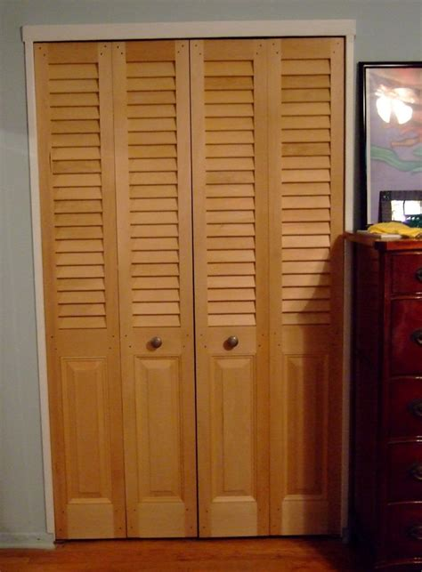 Vented Bifold Closet Doors Louvered Bifold Closet Doors Home Design Ideas