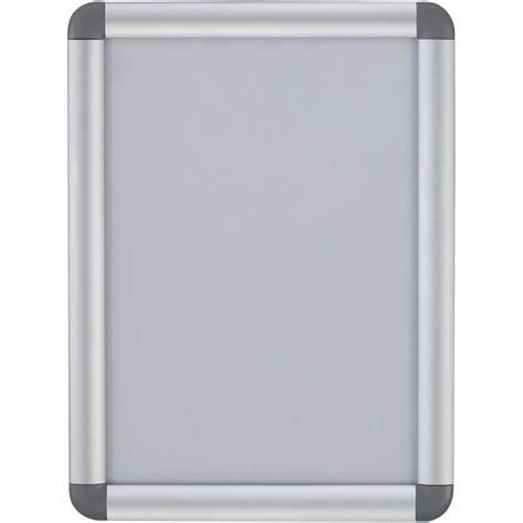 cornici alluminio bi office bacheca con apertura a scatto e angoli