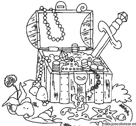 dibujo de un tesoro dibujo de un cofre del tesoro