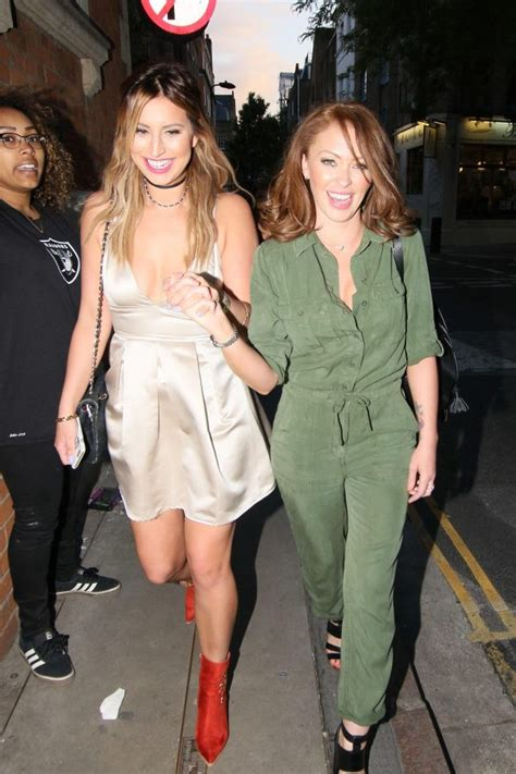 laura neal leaving channel 8 natasha hamilton and ferne mccann party the night away