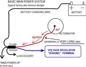 gm one wire alternator wiring diagram wiring diagram