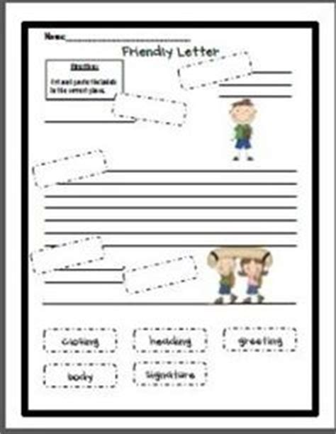 1000 ideas about friendly letter on pinterest writing