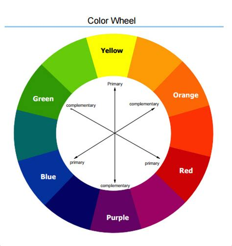 color wheel chart color chart wheel www imgkid the image kid has it