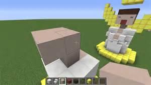 minecraft tutorial easy statue d