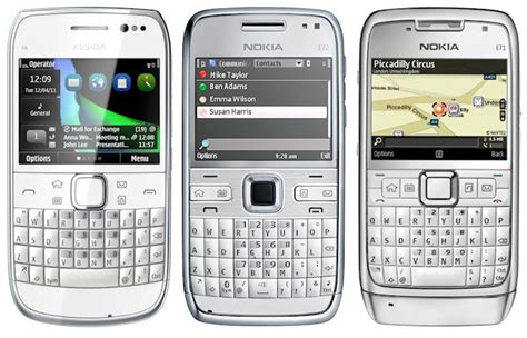 Hp Nokia Qwerty E6 nokia e6 business smartphone with qwerty and touch