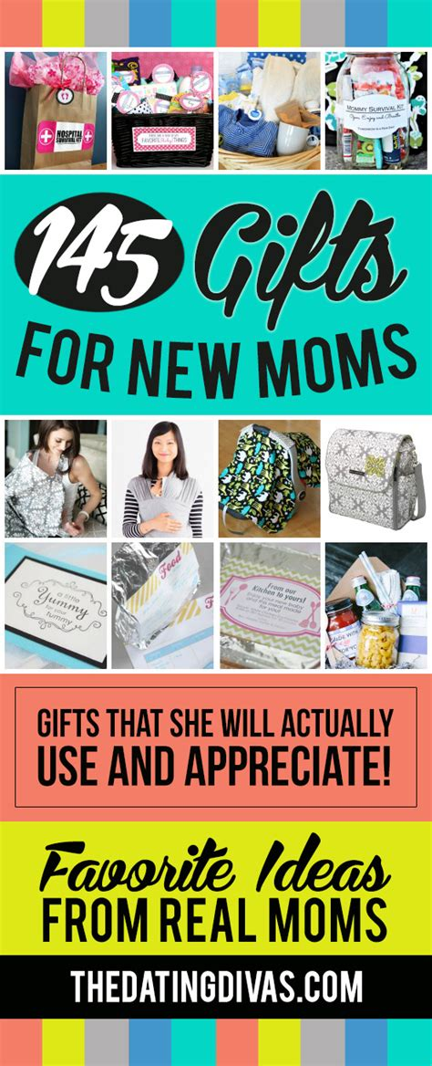 gifts for new moms 145 gift ideas for new moms