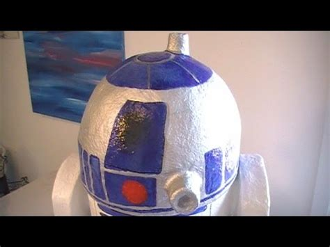 Cool Things To Make Out Of Paper Mache - how to make a cool r2d2 with recycables and paper mache