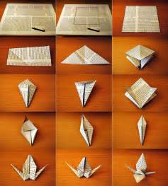 How To Make Paper Crane Step By Step - paper crane decor florenceitalia