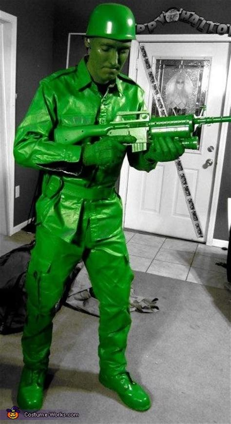 green army man costume diy