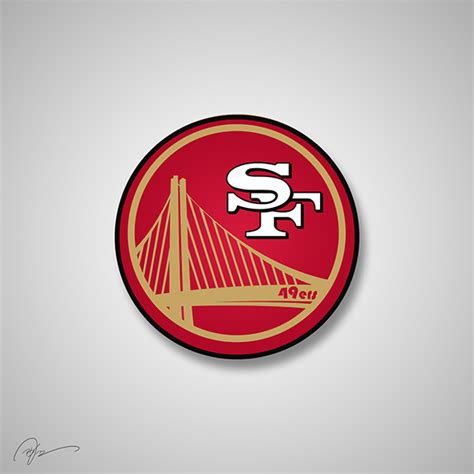 what does sf on logo nfl team logos re imagined as corporations crossed with