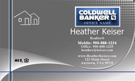 coldwell banker template for business cards silver coldwell banker business card design 104301