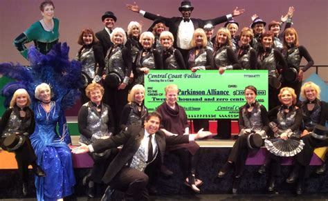 santa maria alliance follies donates 20 000 to parkinson alliance our
