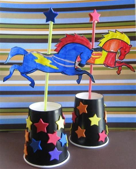 How To Make A Carousel Out Of Paper - 25 best ideas about crafts on