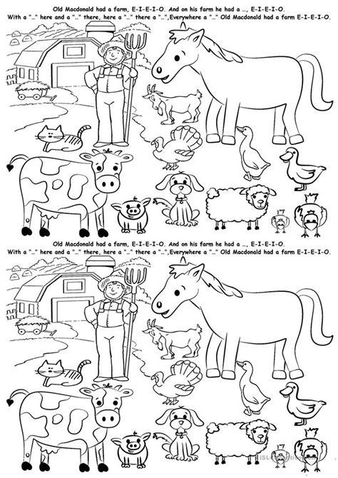 esl printable animal worksheets farm animals worksheet free esl printable worksheets