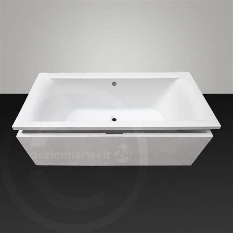 badewanne komplettset badewanne set 170 180 cm inkl ablauf gold pvd und tr 228 ger