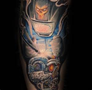 80 welding tattoos for men industrial ink design ideas