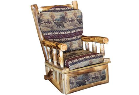 Recliners Rustic Log Country Living Room Chairs