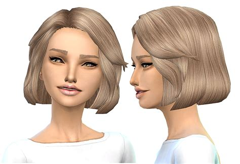 sims 4 short hair sims 4 hairs miss paraply hair retexture 45 colors