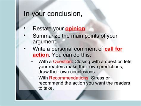 The Call Of The Essay by Argumentative Essay Writing Slides
