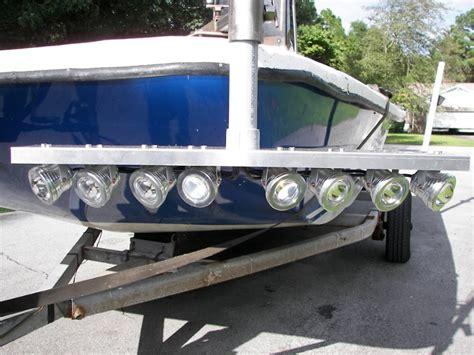 flounder gigging lights for boat 80 watt led flounder gig light system 9000 total lumens