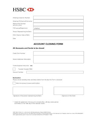 Credit Card Application Form Hsbc Image Gallery Hsbc Direct Debit Form
